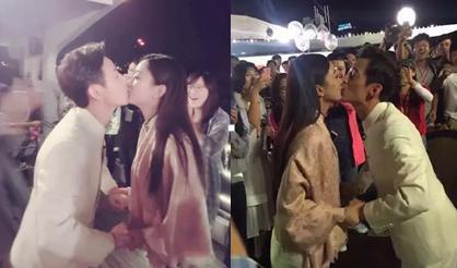 He Jiong Zhao Liying kiss